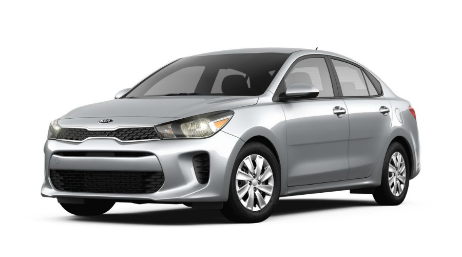 color options for the 2018 kia rio