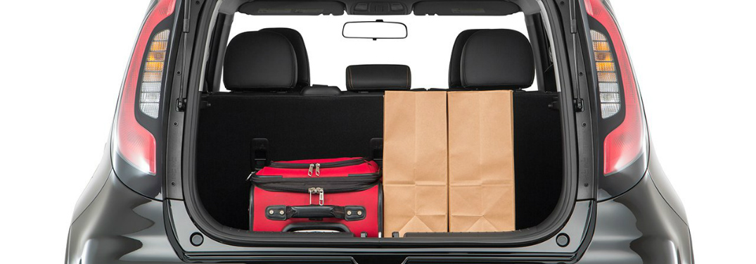 how much cargo space is in the 2018 kia soul. Black Bedroom Furniture Sets. Home Design Ideas