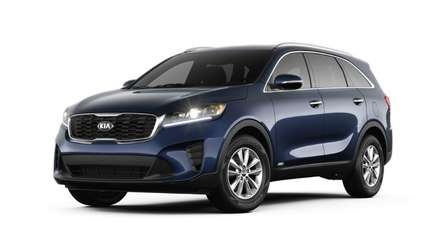 What Colors Does The 2019 Kia Sorento Come In