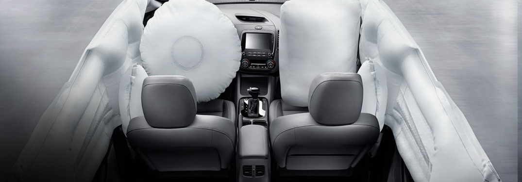 Airbags in the 2018 Kia Forte