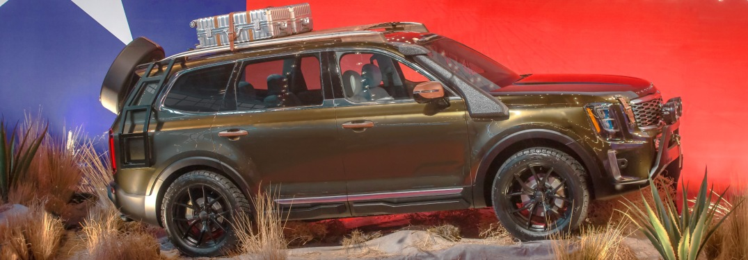 First Images Of Kia Telluride Out In Public