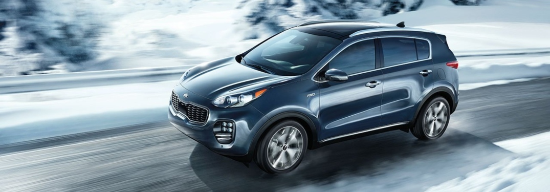 Exciting Power Options of the New Sportage SUV