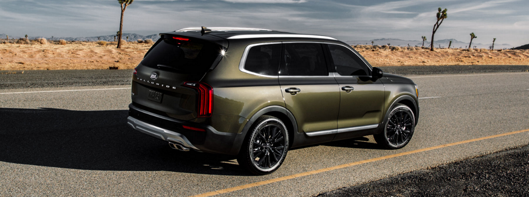 What Colors Does The 2020 Kia Telluride SUV Come In?