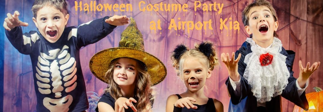 Halloween Costume Party at Airport Kia - Dress Up at the Dealership!