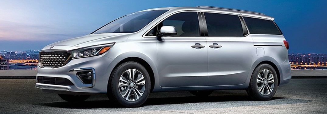 How spacious is the interior of the 2020 Kia Sedona?