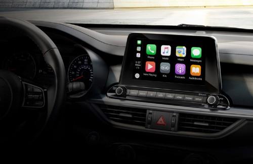 2020 Kia Forte interior 8 inch touchscreen display