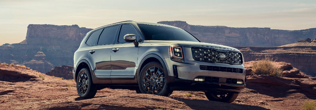 What Technology Features Are Available for the 2021 Kia Telluride?