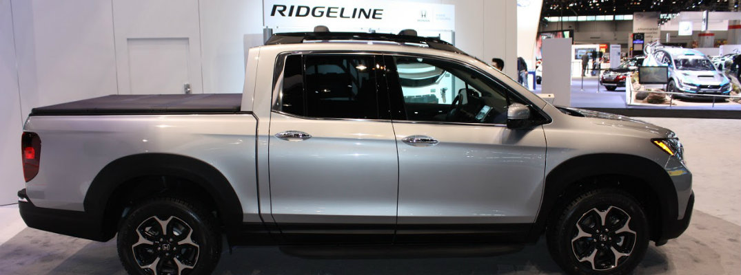 2017 Honda Ridgeline at Chicago Auto Show release date and engine specs