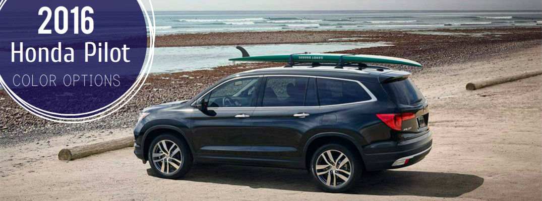 How many colors does the 2016 Honda Pilot come in?