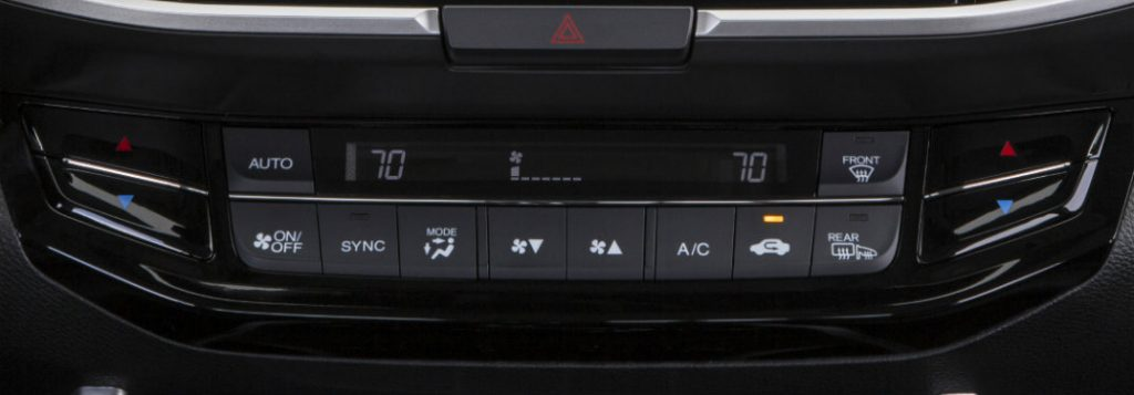 Car Loan Calculator Kbb >> How to use Honda automatic climate control