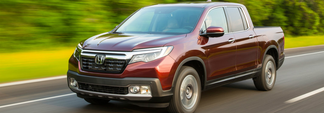 2018 Honda Ridgeline Models and Trim Levels