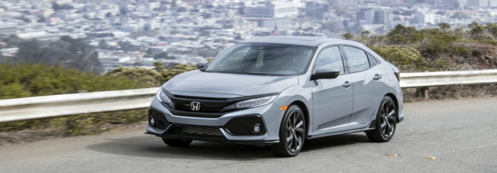 2018 Honda Civic Hatchback trim levels and features