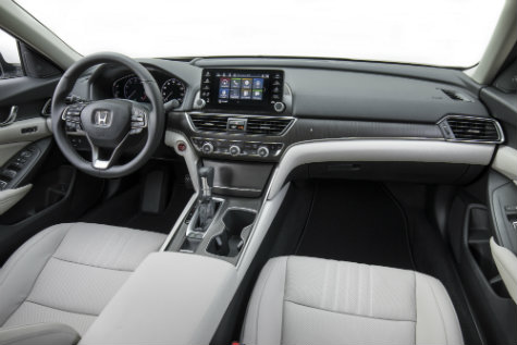 2018 honda accord trim levels and features for Honda accord 2018 interior