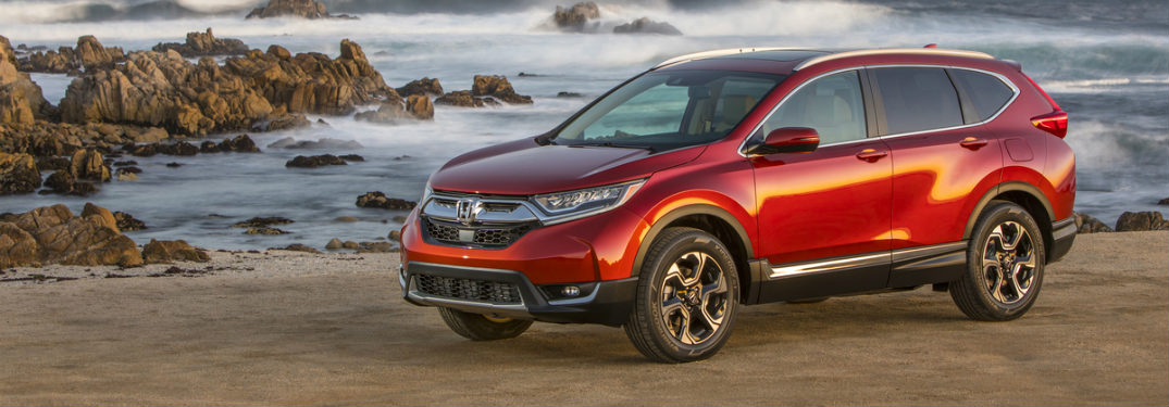 2018 Honda CR-V exterior view on beach