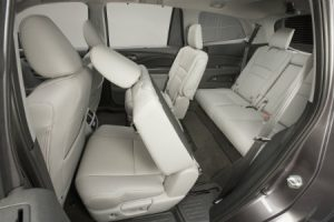 2018 Honda Pilot Interior Seating Area