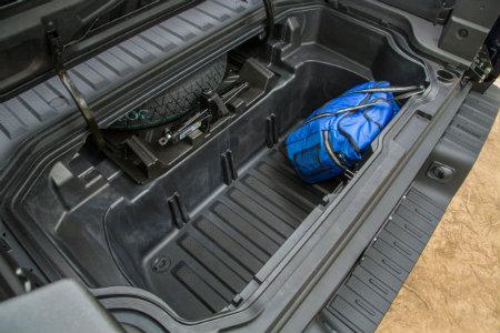 2018 Honda Ridgeline in-bed trunk