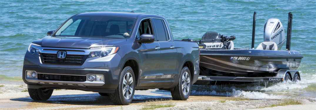 How much can the new Ridgeline haul?