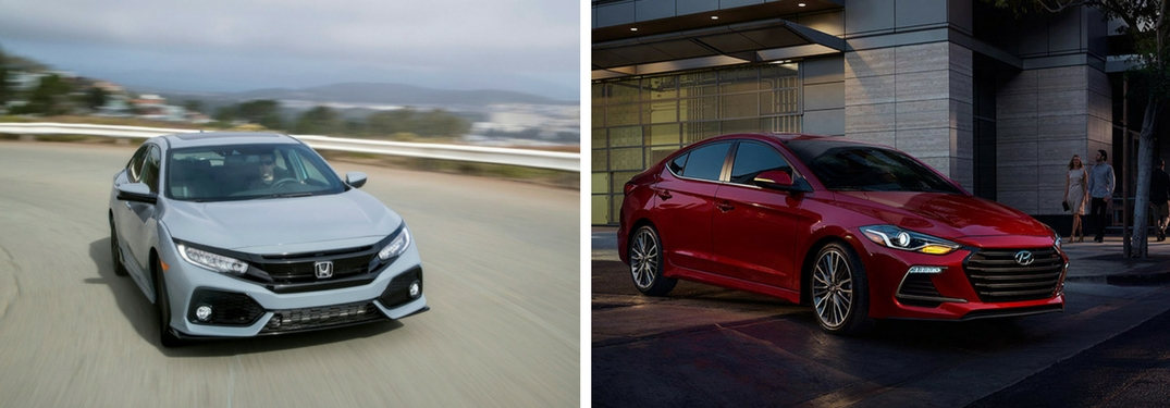 2018 Honda Civic vs 2018 Hyundai Elantra