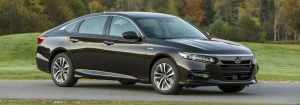 2018 Honda Accord Hybrid exterior black side