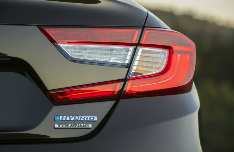 2018 Honda Accord Hybrid back badge