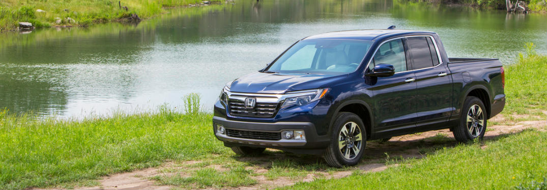 How many trim levels are offered on the 2019 Ridgeline?