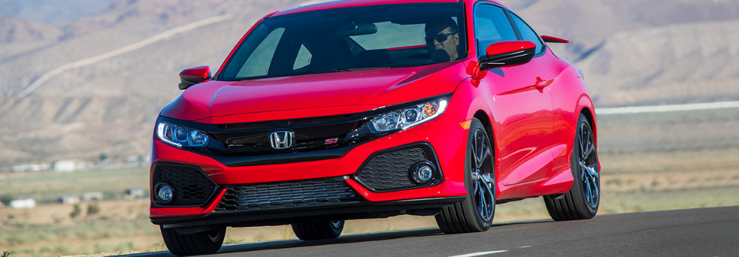 2018 Honda Civic Si exterior front red