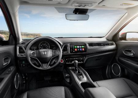 2019 Honda HR-V front seat interior