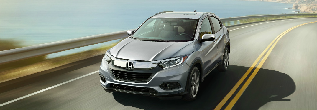 2019 Honda HR-V driving down road
