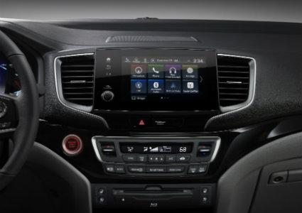 2019 Honda Pilot infotainment system screen