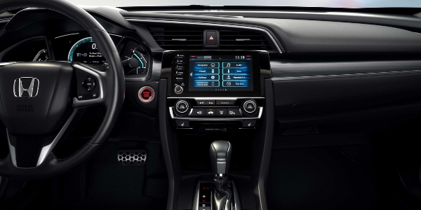2019 Honda Civic Steering Wheel, Dashboard and Display Audio Touchscreen Display