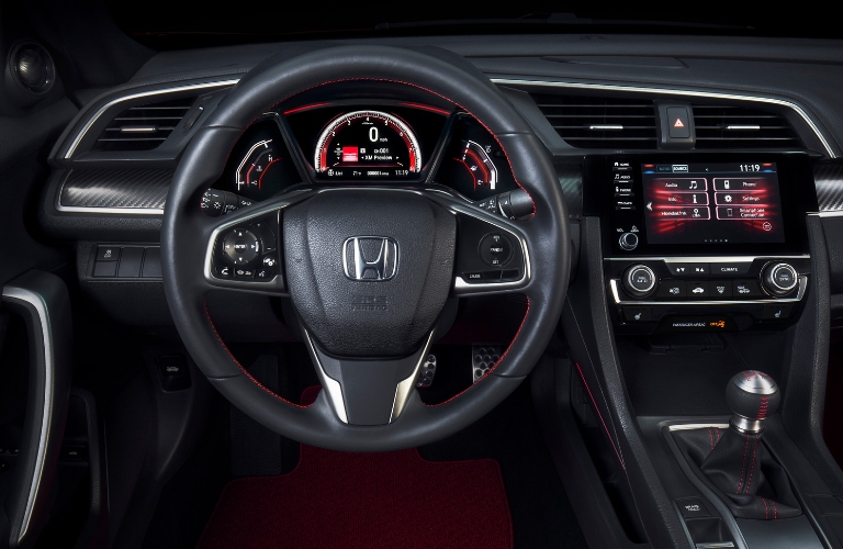 2019 Honda Civic Si Interior