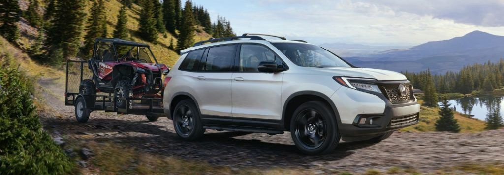 honda passport trim levels  features