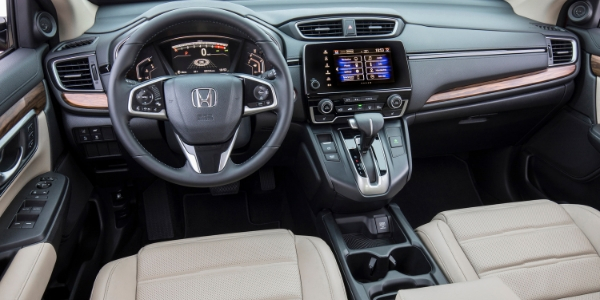 2019 Honda CR-V Steering Wheel, Dashboard and Touchscreen Display