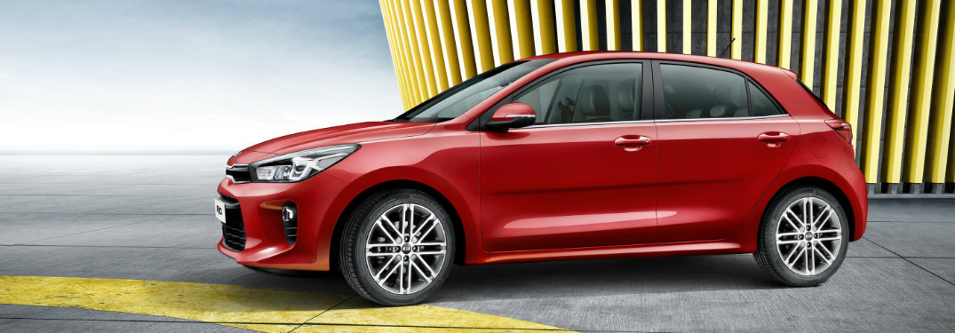 Is there a 2017 model of the Kia Rio 5-Door?