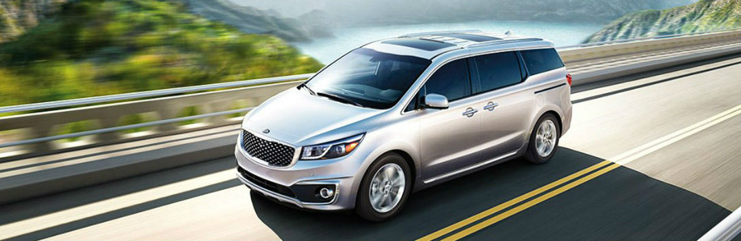 2017 and 2018 Kia sedona shown