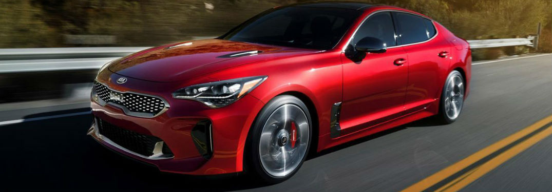 2018 Kia Stinger model video and image gallery
