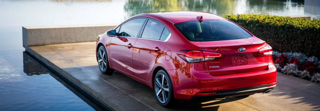 ... 2018 Kia Forte Rear Image On Dock By Lake