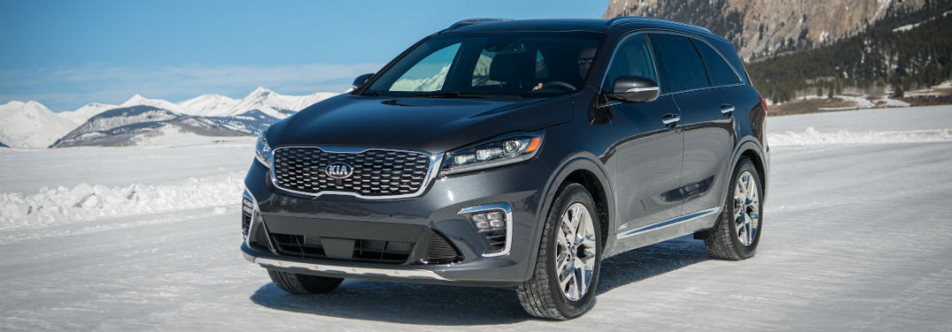 ... 2019 Kia Sorento Driving On Snow