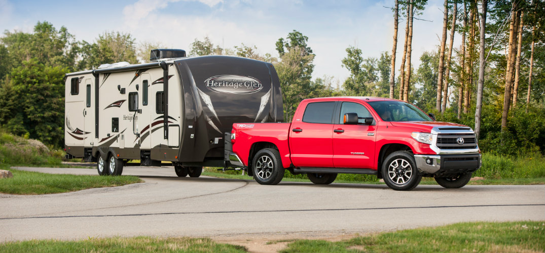Towing Capacity Of The 2016 Toyota Tundra Near Bangor Me