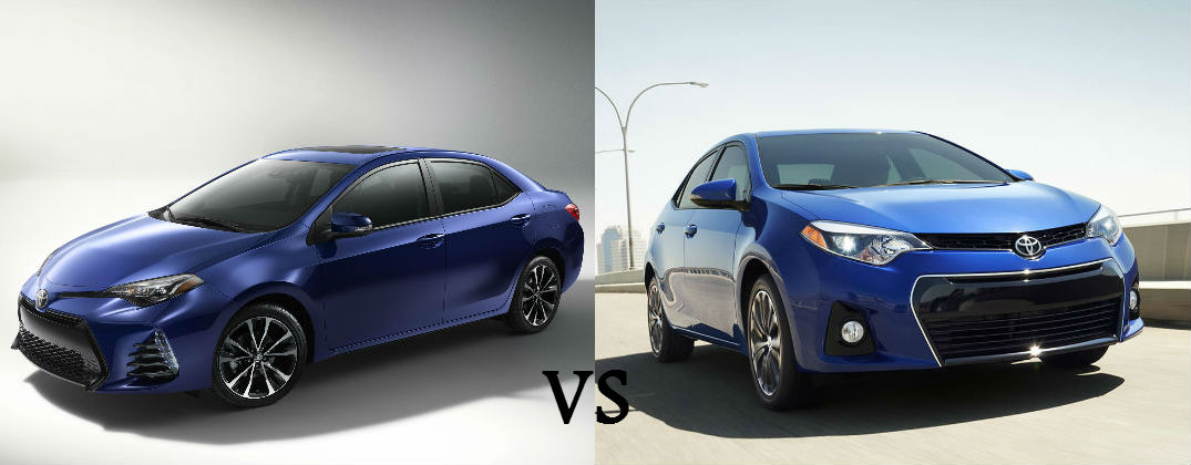 2017 toyota corolla vs 2016 toyota corolla. Black Bedroom Furniture Sets. Home Design Ideas