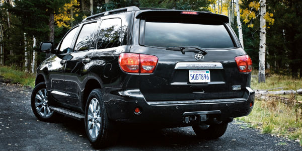 Toyota Sequoia Towing Capacity >> How Much Can the 2016 Toyota Sequoia Tow? - Downeast Toyota