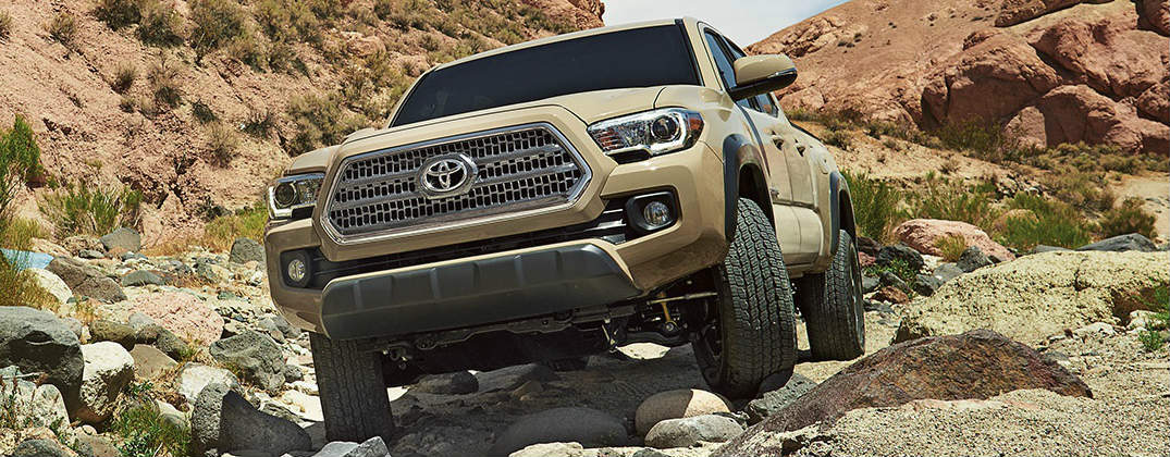 How to Operate the Toyota Tacoma Crawl Control Feature