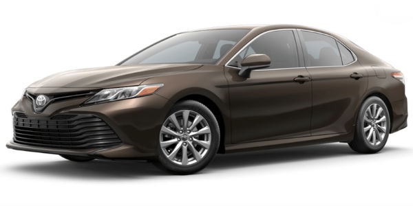 New 2018 Toyota Camry Style And Exterior Color Options