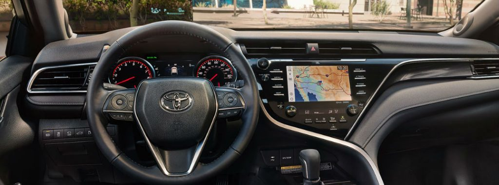 How To Use the Toyota Camry 10-Inch Color Head-Up Display