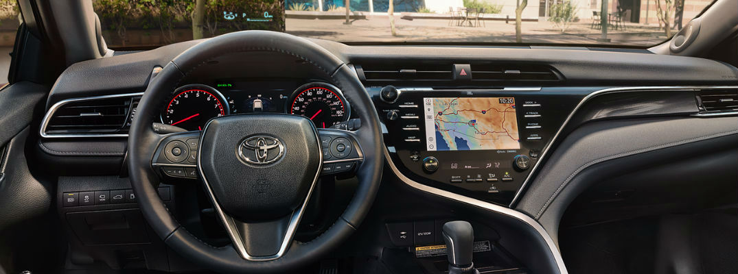How To Use The Toyota Camry 10 Inch Color Head Up Display