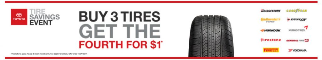 2017 October Toyota Tire Savings Event And Incentives Bangor Me