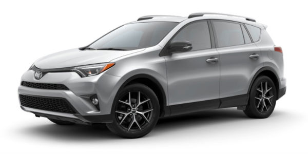 what are the 2018 toyota rav4 style and color options
