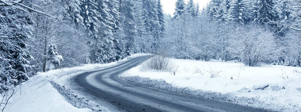 How To Correct a Skid on Ice and Snow in the Winter