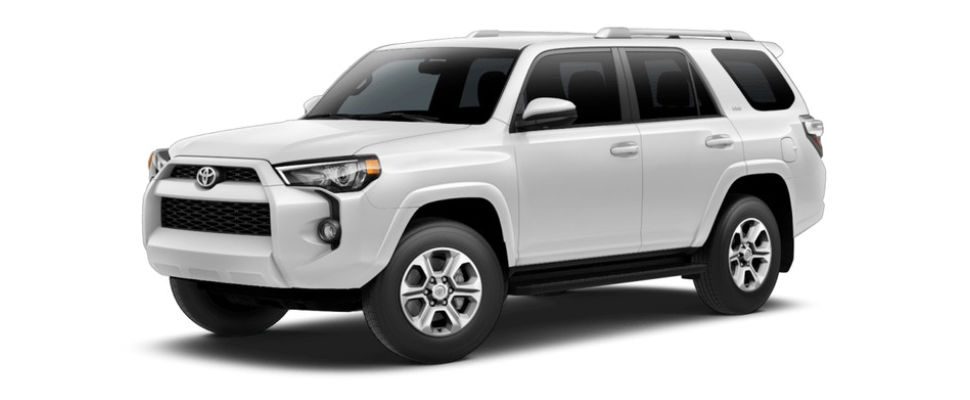 2018 Toyota 4Runner Color Options