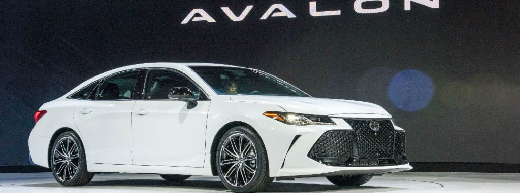 What's New for the 2019 Toyota Avalon Design?